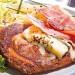 Noix d'entrecôte gorgonzola et jambon fumé d'italie